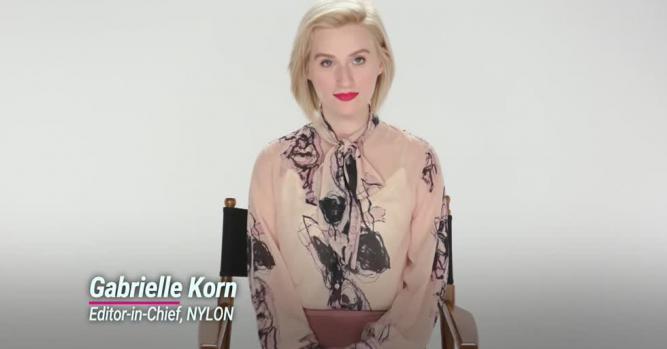 Gabrielle Korn, Digital Content Creato, Nylon