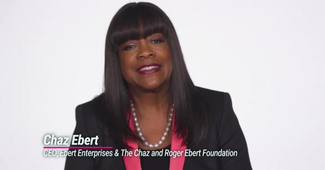 Chaz Ebert, CEO, Ebert Enterprises & The Chaz and Roger Ebert Foundation