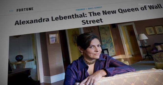 Alexandra Lebenthal, Former President and CEO, Lebenthal & Co.