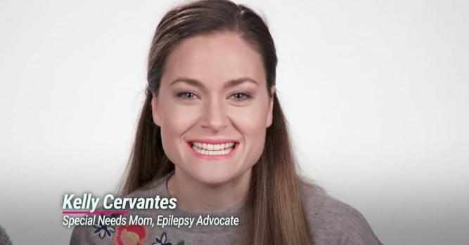Kelly Cervantes, Special Needs Mom, Epilepsy Advocate