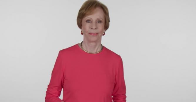 Carol Burnett, Comedian, Writer & Producer