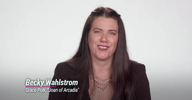Becky Wahlstrom, Actress, 'Joan of Arcadia'