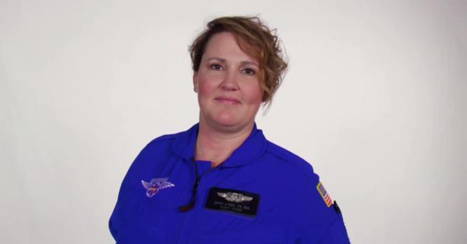 Mindy Lynch, Flight Nurse