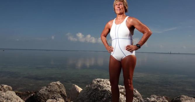 Diana Nyad, Long-Distance Swimmer, Author